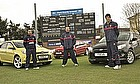 Cricket Stars Put The New Ford Focus To The Test
