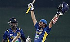 Dilshan And Mathews Partnership Hands Sri Lanka Victory