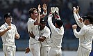 New Zealand Win Despite Mathews Defiance
