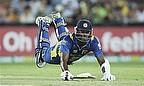 Sri Lanka Celebrate Twenty20 Win On Australia Day