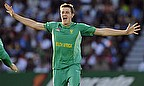 Morne Morkel in action for South Africa in ODI cricket