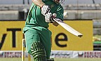 Colin Ingram plays a shot for South Africa