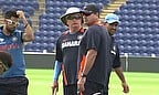 India train ahead of their Champions Trophy semi-final against Sri Lanka