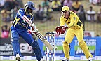Upul Tharanga hits out for Sri Lanka against Australia