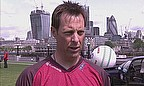 Marcus Trescothick talking at the launch of the 2013 Friends Life t20