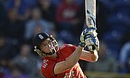 Jos Buttler hits a six