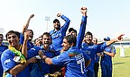Afghan players celebrate