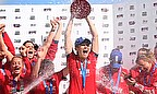 England Women win the Ashes