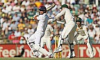 ...but cut Nathan Lyon to David Warner - a huge wicket for the home side