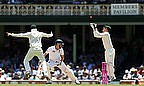 Gary Ballance made 18 on Test debut but was caught behind off Nathan Lyon