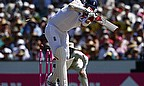 England's innings ended when Boyd Rankin was bowled by Mitchell Johnson