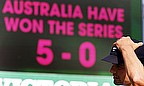 The scoreboard tells the story - an Ashes whitewash that few predicted