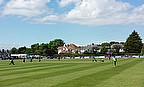 Action from the Ireland v Pakistan game at Clontarf in 2013
