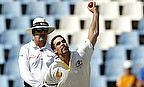 Mitchell Johnson in delivery