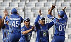 Afghanistan players celebrate