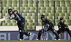 Ross Taylor in action against Pakistan