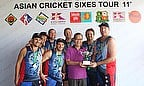 Cup division winners Wolfpack and Kata Group Resorts Thailand Khun Eam
