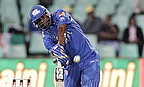 Kieron Pollard hits out for Mumbai Indians