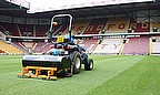 The SISIS Javelin Aer-Aid 1500 has helped improve the playing surface at Bradford City's Coral Windows Stadium