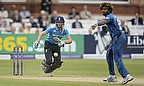 Jos Buttler (left) hits Lasith Malinga for four, but the Sri Lankans would have the final say