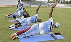 The West Indies team finalising preparations for the decisive third Test against New Zealand
