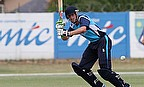 Calum MacLeod, here in action against Namibia, hit a brilliant 145 to set up Scotland's win