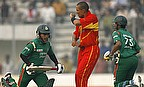 Action from Bangladesh v Zimbabwe