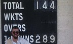 Alex Ross scored a fine 144 for Leyland CC as they won the first match