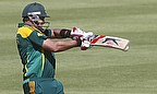 Jacques Kallis hits a shot