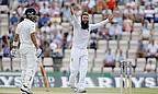 Moeen Ali appeals for a wicket