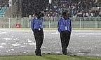 Rain stops play in Visakhaptnam
