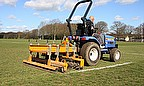 With the help of an RFU grant, the purchase of a SISIS Quadraplay and Multitiner drum-type tractor-mounted aerator has helped Brentwood Rugby Club ach