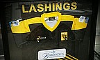 The Lashings signed shirt - bids stat at £50 and the reserve is £150