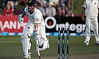 Kane Williamson makes a run