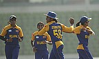 Sri Lanka held on to beat Pakistan by eight runs