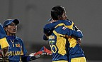 Udeshika Prabodhani and Sri Lanka celebrate