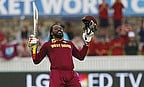 Gayle Slams Double Hundred En Route 9000 ODI Runs