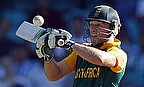 AB de Villiers smashed the fastest 150 in One-Day Internationals against West Indies on Friday.