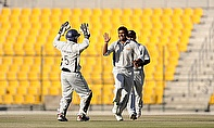 UAE players celebrate
