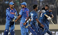 India might have lost the ICC World Twenty20 final to Sri Lanka, but they have moved above in the T20I rankings