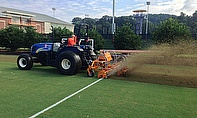 The SISIS Veemo and SISIS Multislit are helping keep Clemson University's sports grounds in top condition