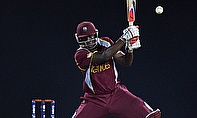 Andre Russel joins up with the West Indies squad in St Kitts