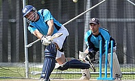 Richie Berrington hit a century but ended up on the losing side for Scotland