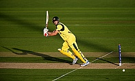 Mitchell Marsh blasted two sixes in two balls to score a fine win for Perth Scorchers