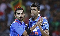 Virat Kohli and Ravichandran Ashwin