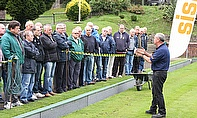 The Dennis and SISIS bowling green maintenance seminars finished in style, with a high demand for tickets meaning an extra day was required.