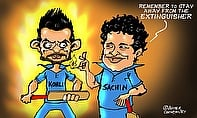 Tendulkar Backs Kohli To Fire In WC