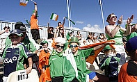 Ireland fans at the World Cup