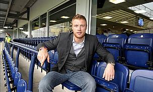 Andrew Flintoff is raring to go for the first Ashes Test match...