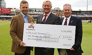 Tarrant Accepts Donation From Marston's Charity Ale